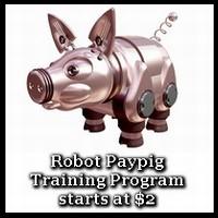 Robot paypig training program! Danger!