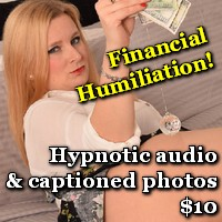 financial domination humiliation